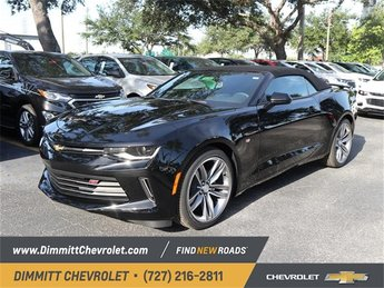 2018 Mosaic Black Metallic Chevy Camaro LS Manual RWD Convertible 3.6L V6 DI Engine