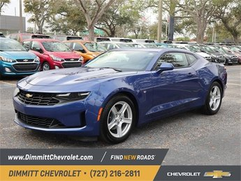 2019 Riverside Blue Metallic Chevy Camaro LT Automatic 2 Door Coupe 3.6L V6 DI Engine