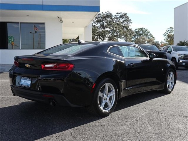 2016 Black Chevy Camaro LT RWD 3.6L V6 DI Engine 2 Door Automatic Coupe