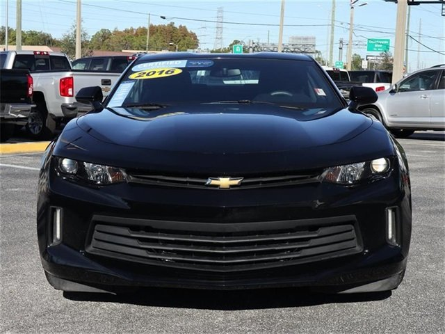 2016 Black Chevy Camaro LT Automatic 3.6L V6 DI Engine 2 Door