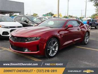 2019 Garnet Red Tintcoat Chevy Camaro LT Coupe RWD 3.6L V6 DI Engine