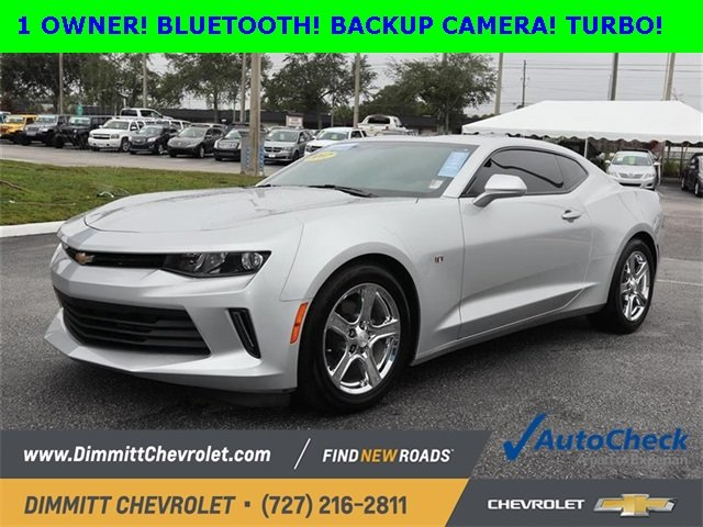 2017 Chevy Camaro LT RWD 2.0L Turbocharged Engine 2 Door Automatic Coupe