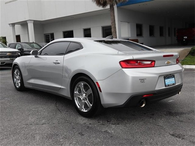 2017 Silver Ice Metallic Chevy Camaro LT RWD 2.0L Turbocharged Engine Automatic Coupe