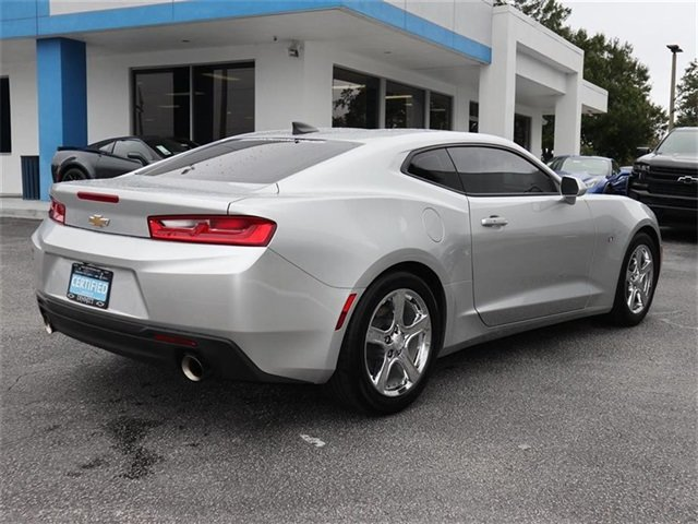 2017 Silver Ice Metallic Chevy Camaro LT 2.0L Turbocharged Engine RWD 2 Door Coupe