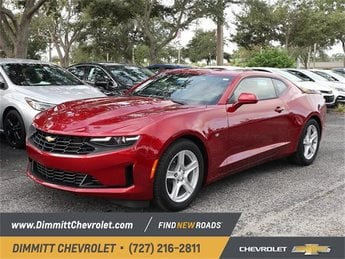 2019 Garnet Red Tintcoat Chevy Camaro LT 3.6L V6 DI Engine Coupe 2 Door Automatic RWD