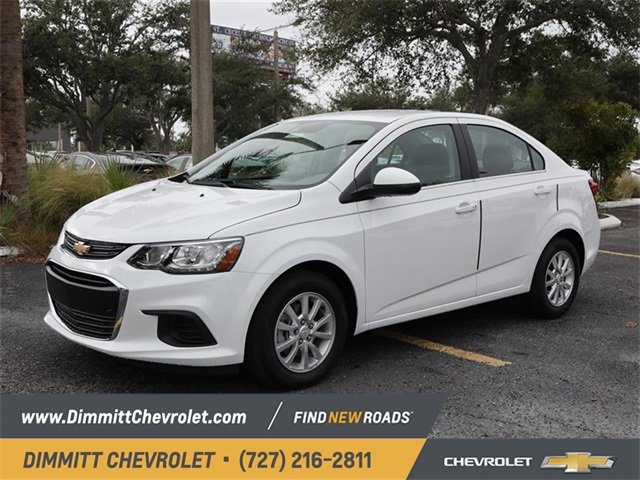 2019 Chevy Sonic LT 4 Door 1.4L 4-Cylinder Turbocharged Engine Sedan FWD