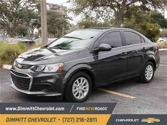 2019 Chevy Sonic LT FWD Sedan Automatic 1.4L 4-Cylinder Turbocharged Engine