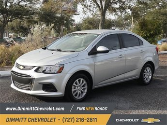 2019 Silver Ice Metallic Chevy Sonic LT 4 Door FWD 1.4L 4-Cylinder Turbocharged Engine Automatic