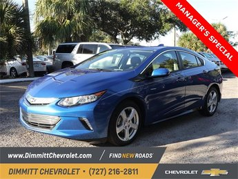 2018 Kinetic Blue Metallic Chevy Volt LT 1.5L VVT DI DOHC 4-Cylinder Range Extender Engine Hatchback FWD Automatic 4 Door