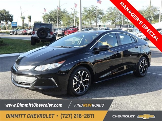 2018 Mosaic Black Metallic Chevy Volt Premier Automatic FWD 4 Door