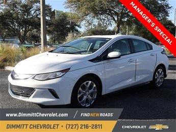 2018 Summit White Chevy Volt Premier Hatchback 4 Door 1.5L VVT DI DOHC 4-Cylinder Range Extender Engine