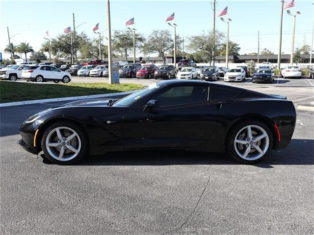 2015 Chevy Corvette 1LT 2 Door Manual Sedan RWD 6.2L V8 Engine