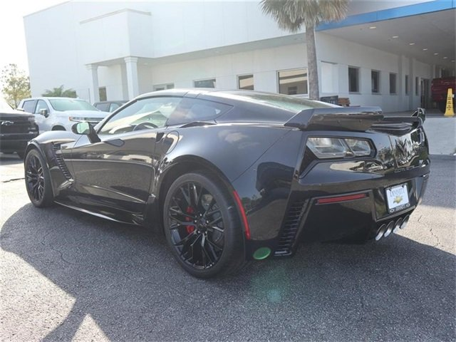 2019 Black Chevy Corvette Z06 1LZ Coupe 2 Door V8 Supercharged Engine RWD