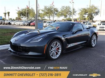 2019 Shadow Gray Metallic Chevy Corvette Z06 1LZ Automatic RWD 2 Door V8 Supercharged Engine