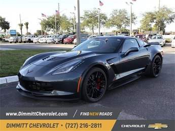 2019 Shadow Gray Metallic Chevy Corvette Z06 1LZ RWD Automatic Coupe