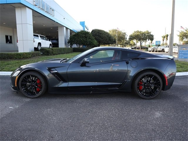 2019 Shadow Gray Metallic Chevy Corvette Z06 1LZ 2 Door RWD Coupe Automatic V8 Supercharged Engine