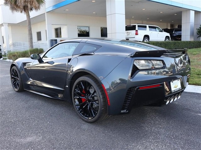 2019 Shadow Gray Metallic Chevy Corvette Z06 1LZ V8 Supercharged Engine Coupe Automatic 2 Door RWD