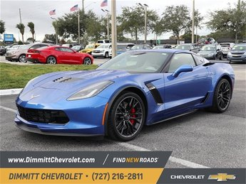 2019 Chevy Corvette Z06 2LZ Coupe 2 Door V8 Supercharged Engine RWD