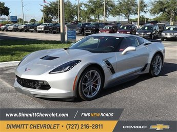 2019 Chevy Corvette Grand Sport 1LT Coupe Manual RWD 6.2L V8 Engine