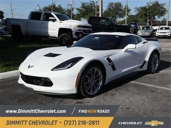 2019 Chevy Corvette Grand Sport 1LT Automatic Coupe 6.2L V8 Engine RWD 2 Door