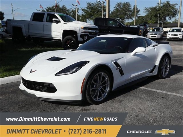 2019 Chevy Corvette Grand Sport 1LT Automatic RWD Coupe 6.2L V8 Engine