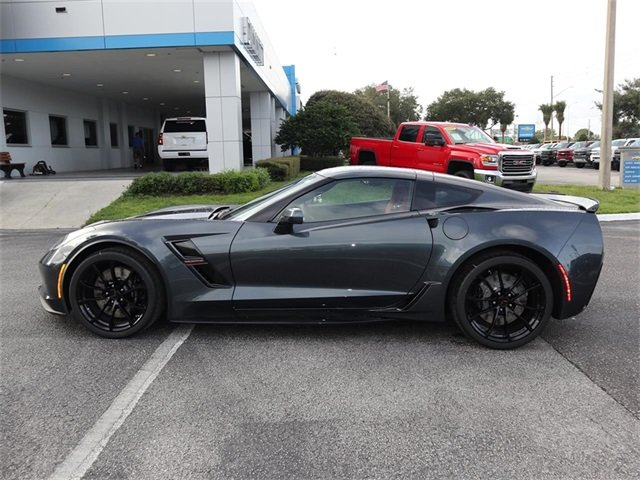 2019 Shadow Gray Metallic Chevy Corvette Grand Sport 1LT 6.2L V8 Engine Automatic 2 Door Coupe