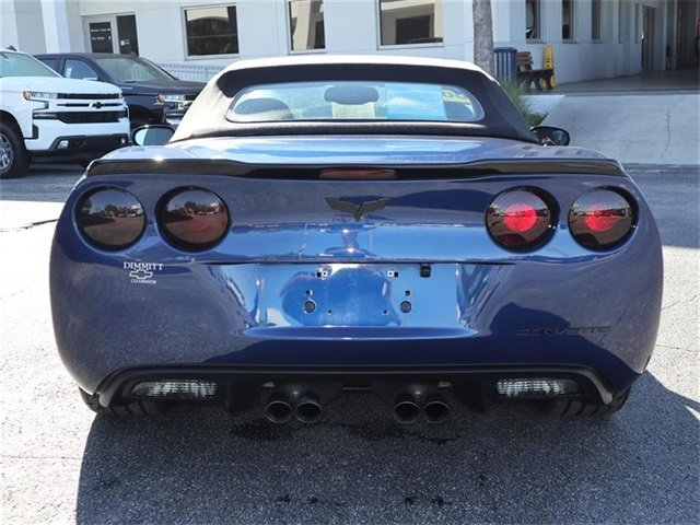 2007 Chevy Corvette Base 2 Door Automatic RWD Convertible 6.0L V8 SFI Engine
