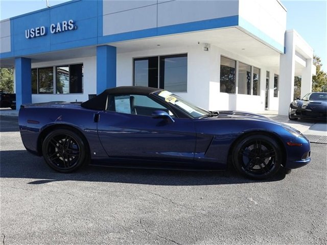 2007 Chevy Corvette Base 6.0L V8 SFI Engine Convertible Automatic 2 Door RWD