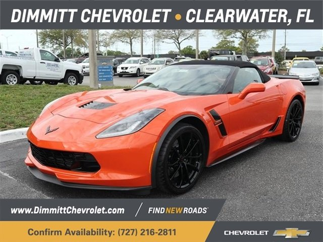 2019 Chevrolet Corvette Grand Sport 2LT RWD Automatic 2 Door Convertible 6.2L V8 Engine