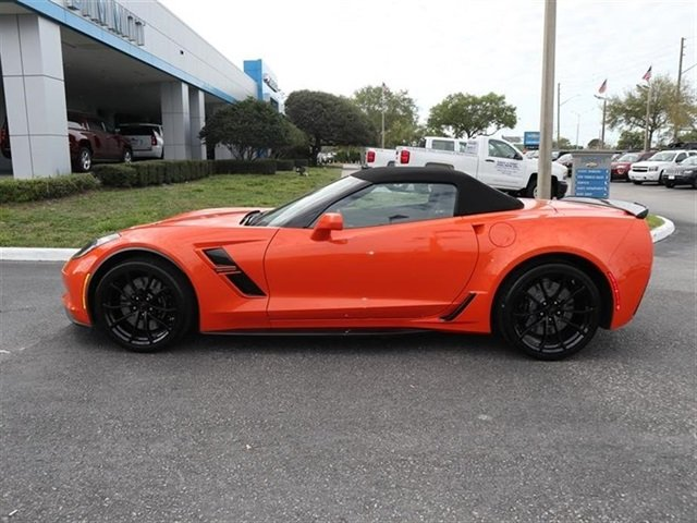 2019 Sebring Orange Tintcoat Chevrolet Corvette Grand Sport 2LT 2 Door Automatic RWD Convertible 6.2L V8 Engine