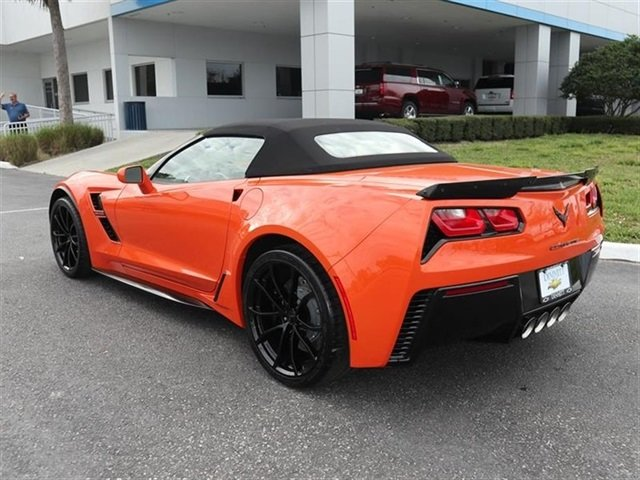 2019 Sebring Orange Tintcoat Chevrolet Corvette Grand Sport 2LT RWD 2 Door Convertible 6.2L V8 Engine Automatic