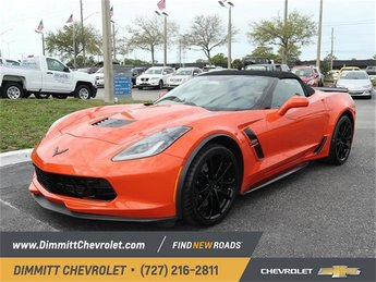 2019 Sebring Orange Tintcoat Chevy Corvette Grand Sport 2LT 6.2L V8 Engine Automatic 2 Door Convertible RWD