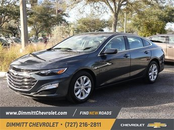 2019 Shadow Gray Metallic Chevy Malibu LT 1.5L DOHC Engine Sedan 4 Door FWD