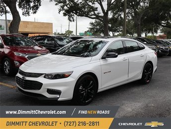 2018 Chevy Malibu LT FWD Sedan Automatic 1.5L DOHC Engine