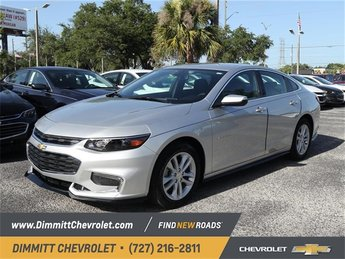 2018 Chevy Malibu LT Automatic 1.5L DOHC Engine 4 Door Sedan FWD