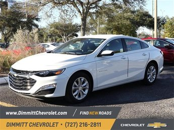 2019 Chevy Malibu LT Sedan FWD 1.5L DOHC Engine Automatic (CVT) 4 Door