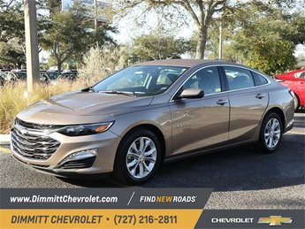 2019 Sandy Ridge Metallic Chevy Malibu LT 4 Door Automatic (CVT) Sedan FWD