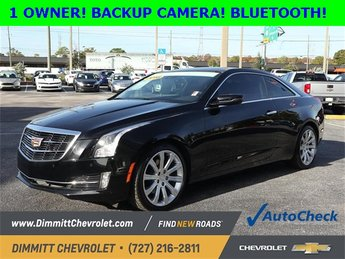 2016 Cadillac ATS Luxury Collection RWD RWD 2.0L Turbo I4 DI DOHC VVT Engine Automatic Coupe 2 Door