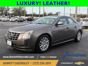 2012 Mocha Steel Metallic Cadillac CTS Luxury RWD Sedan 4 Door 3.0L V6 SIDI DOHC VVT Engine Automatic