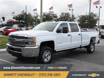 2019 Chevy Silverado 2500HD Work Truck 4 Door Vortec 6.0L V8 SFI Flex Fuel VVT Engine Automatic