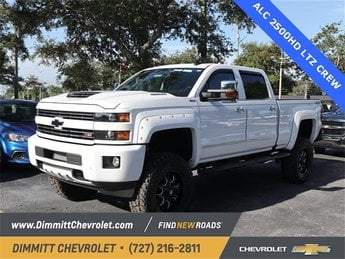 2019 Chevy Silverado 2500HD LTZ 4 Door 4X4 6.6L 8-Cylinder Diesel Turbocharged Engine Automatic