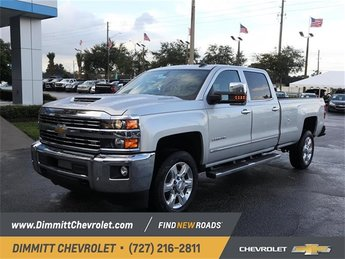 2019 Silver Ice Metallic Chevy Silverado 2500HD LTZ 4 Door Automatic 4X4 Duramax 6.6L V8 Turbodiesel Engine