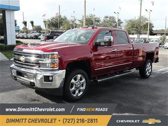 2019 Cajun Red Tintcoat Chevy Silverado 2500HD LTZ 4 Door Duramax 6.6L V8 Turbodiesel Engine Truck 4X4 Automatic