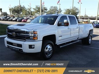 2019 Iridescent Pearl Tricoat Chevy Silverado 3500HD High Country Truck 4 Door Automatic Duramax 6.6L V8 Turbodiesel Engine