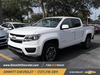 2019 Chevy Colorado 2WD Work Truck 4 Door RWD V6 Engine
