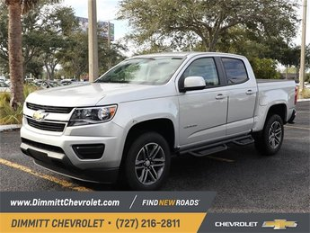 2019 Chevy Colorado 2WD Work Truck Truck RWD 4 Door V6 Engine Automatic
