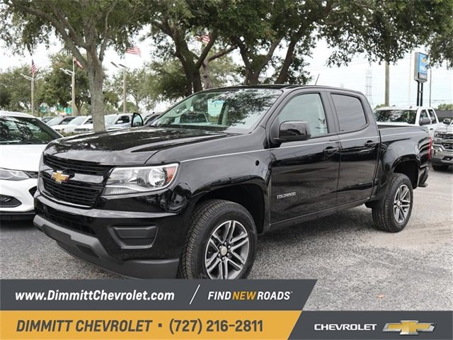 2019 Black Chevy Colorado 2WD Work Truck RWD 4 Door Automatic Truck V6 Engine
