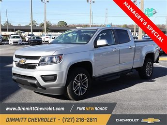 2019 Silver Ice Metallic Chevy Colorado 2WD Work Truck RWD Automatic 4 Door