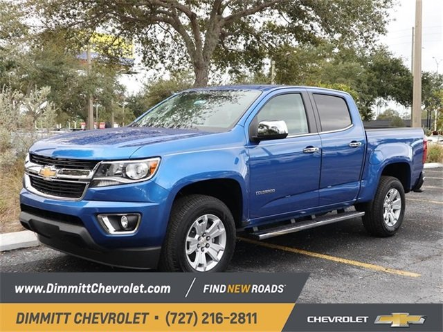 2019 Chevy Colorado 2WD LT 2.5L I4 DI DOHC VVT Engine Truck 4 Door Automatic