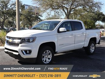 2019 Summit White Chevy Colorado 2WD LT RWD 4 Door Truck Automatic